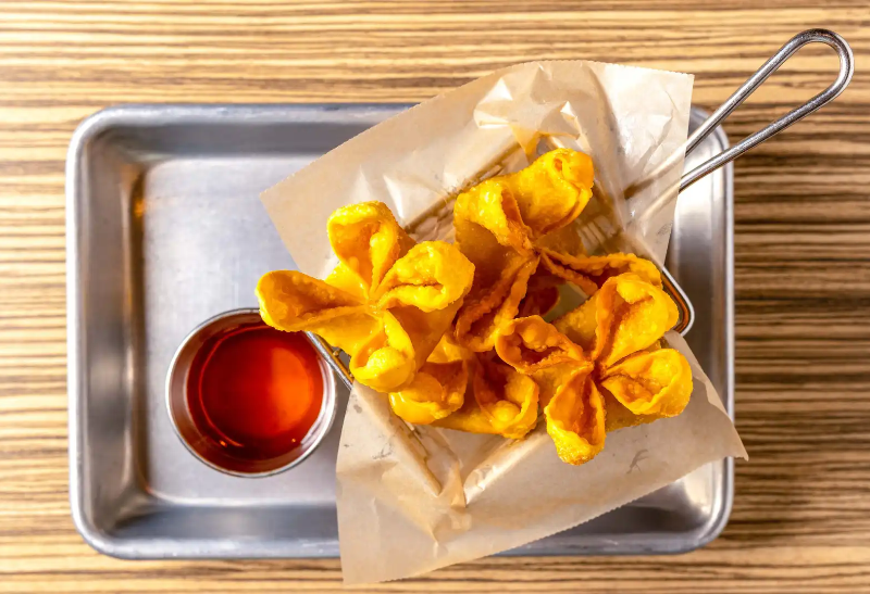 A2. Crab Rangoon (5 Pcs) Image