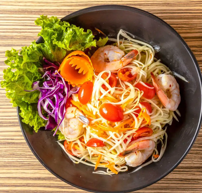 S3. Papaya Salad Image