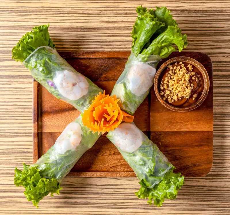 A6. Summer roll (4 Pcs) Image