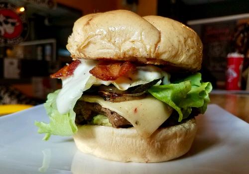 Guac-Zilla Burger