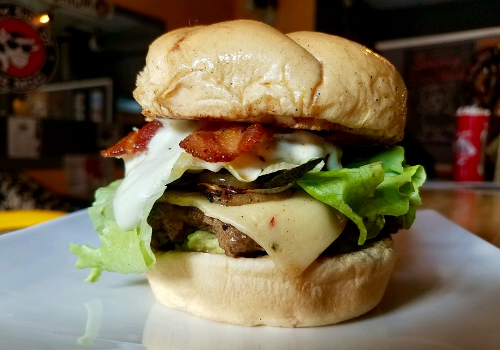 Guac-Zilla Burger Image