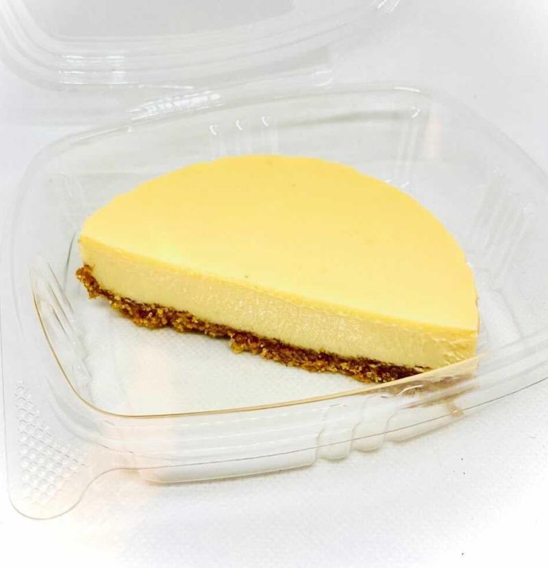 Passion Fruit Mousse Pie Image