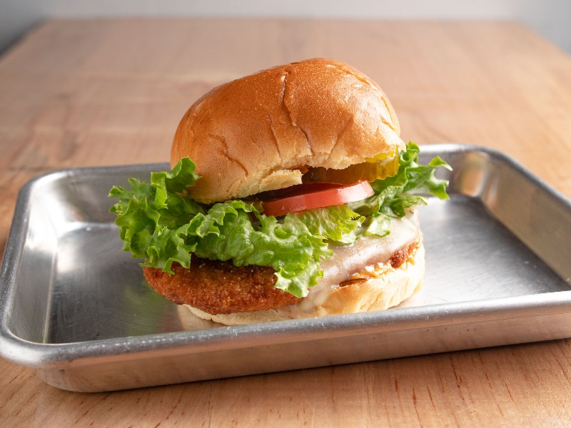 Hot chix chicken sandwich Image