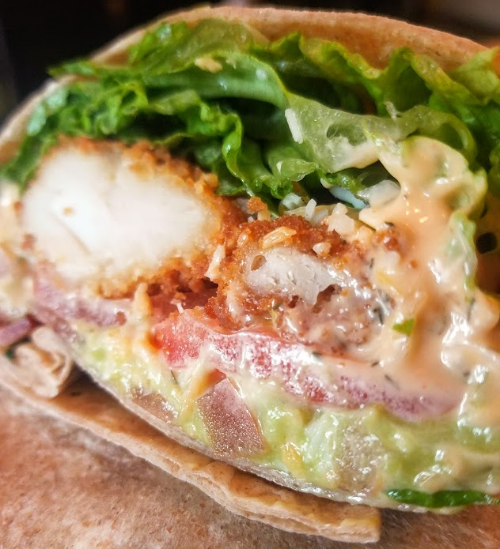 Chicken Royale wrap Image