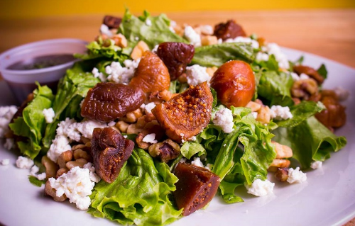 Fig and Goat Cheese Salad Image