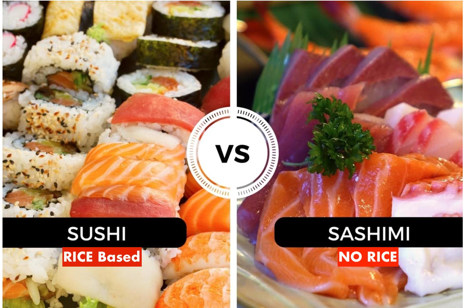 Sushi or Sashimi