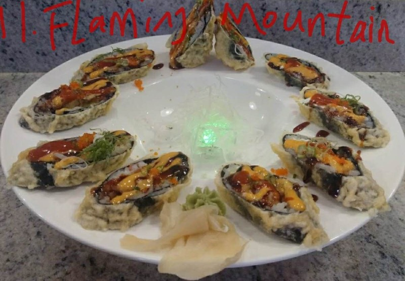 11. Flaming Mountains Roll