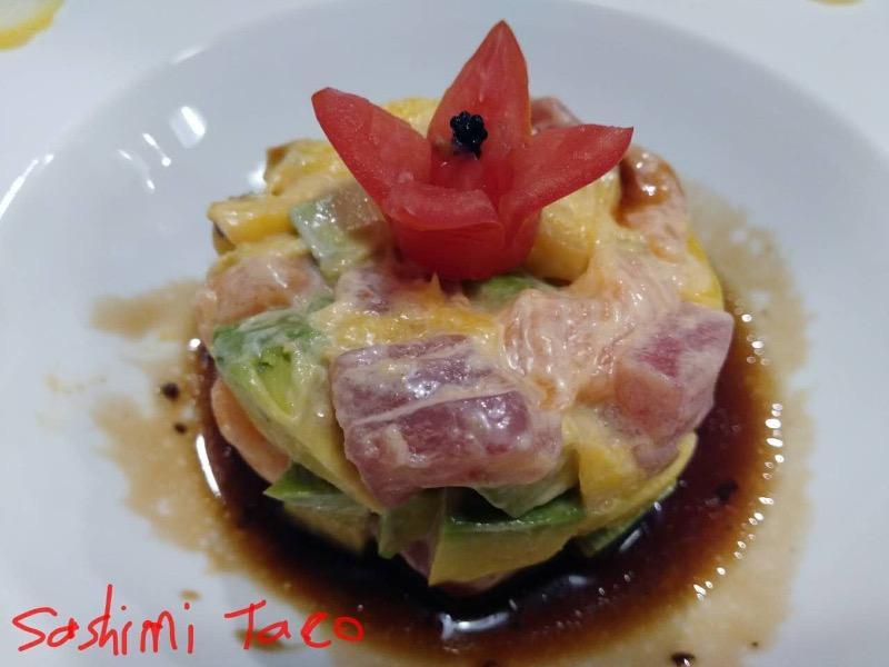 Sashimi Taco Image