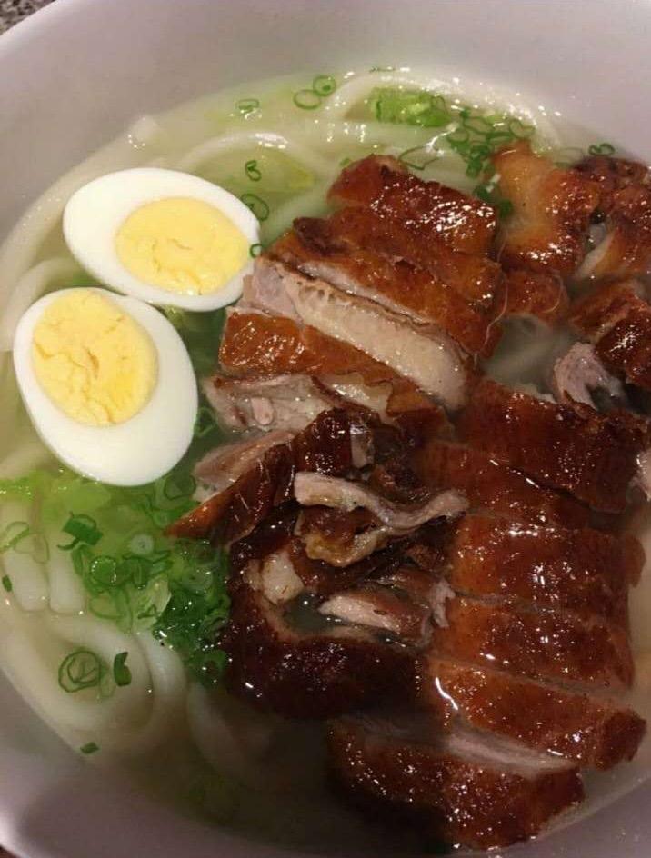 Clear Noodle Soup (Udon)