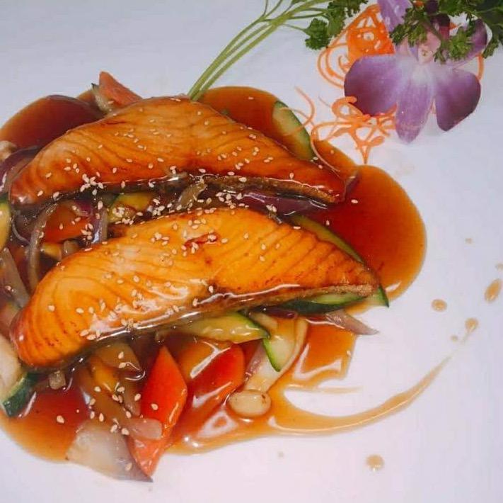 Teriyaki Salmon Image