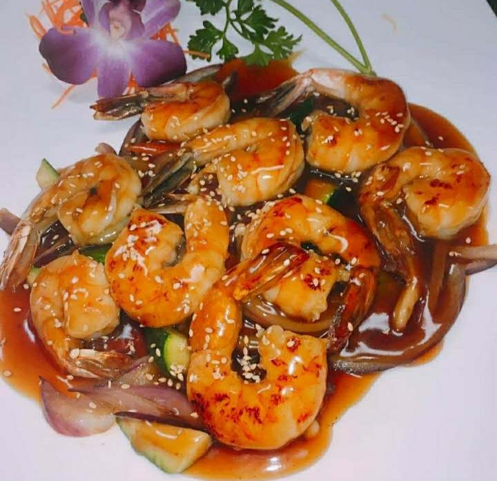 Teriyaki Shrimp Image