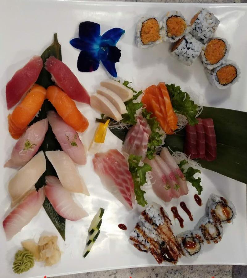Sushi & Sashimi Combo for 2