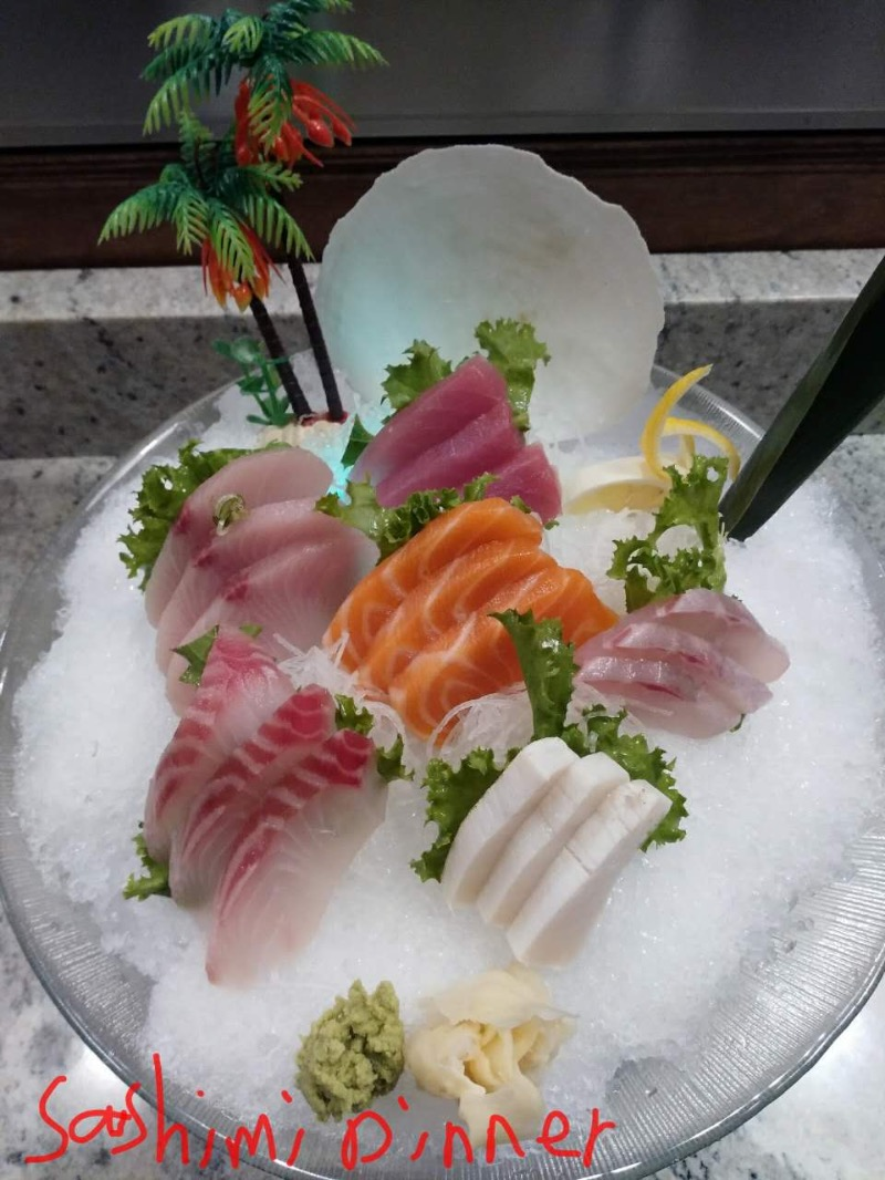 Sashimi Dinner Image