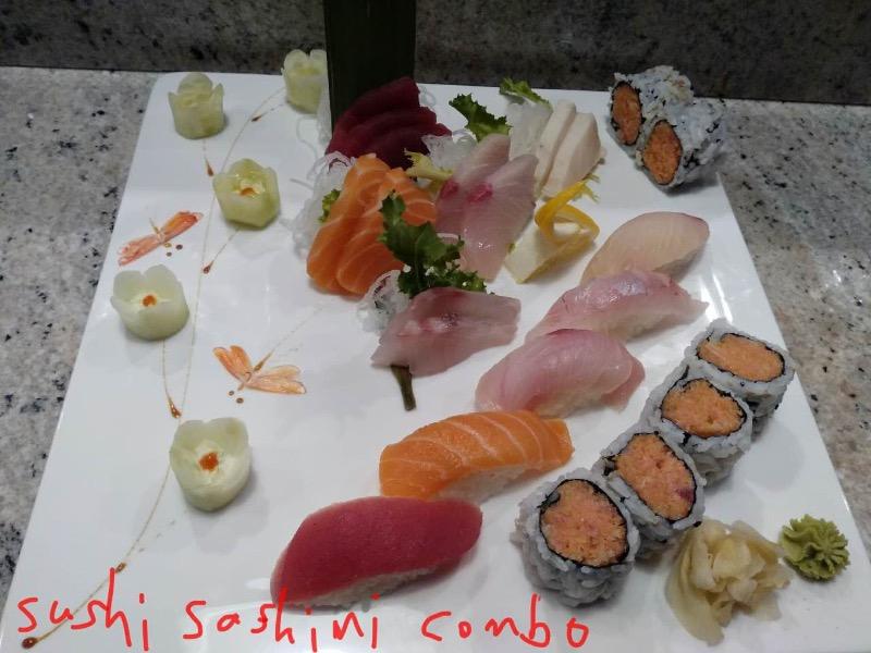 Sushi & Sashimi Combo