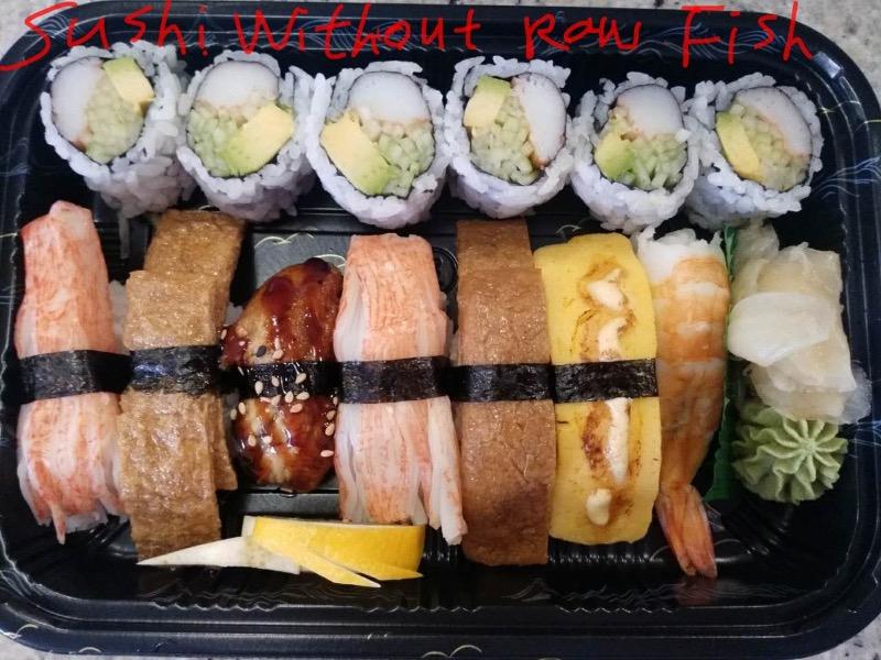 Sushi Without Raw Fish Image