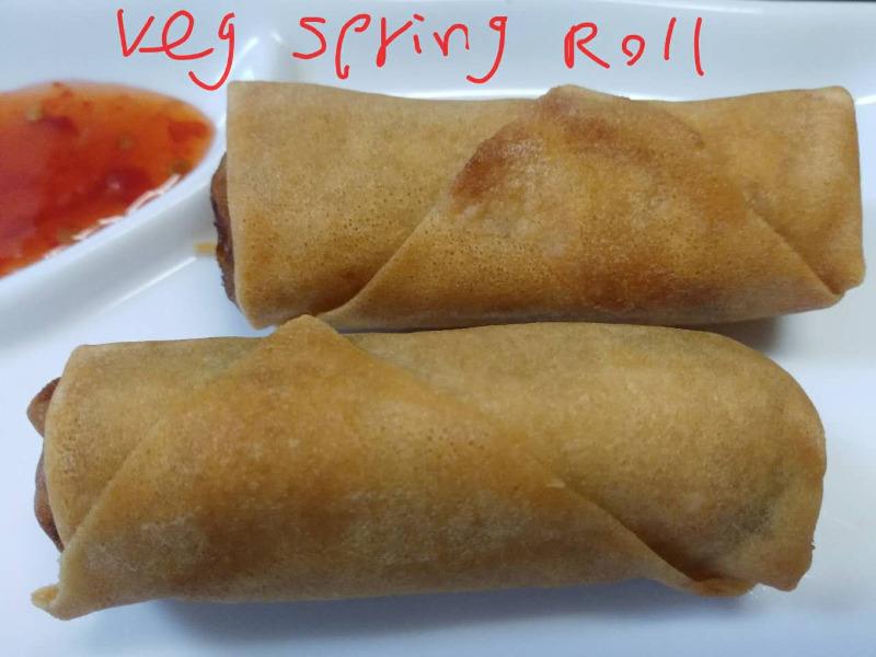 Vegetarian Spring Roll Image