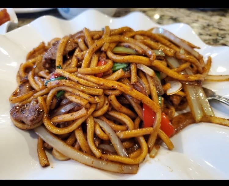 7. Beef Lo Mein w/ Black Pepper