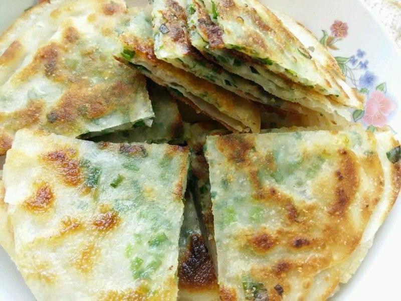 3. Scallions Pancake (1 pc)