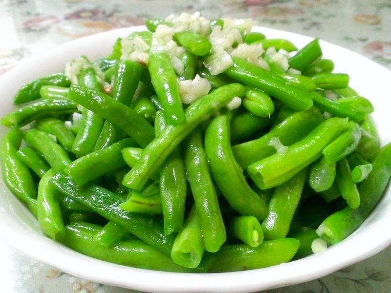 10. Garlic String Beans Image
