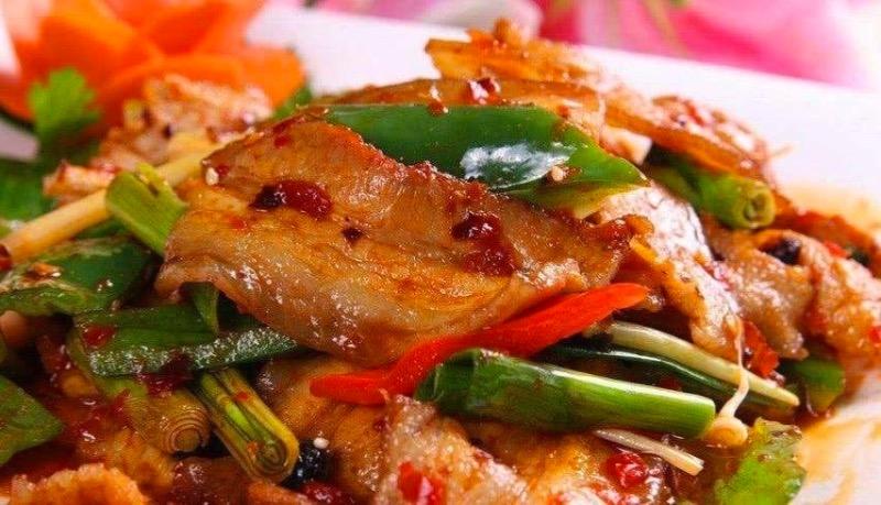 6. Twice Cooked Pork