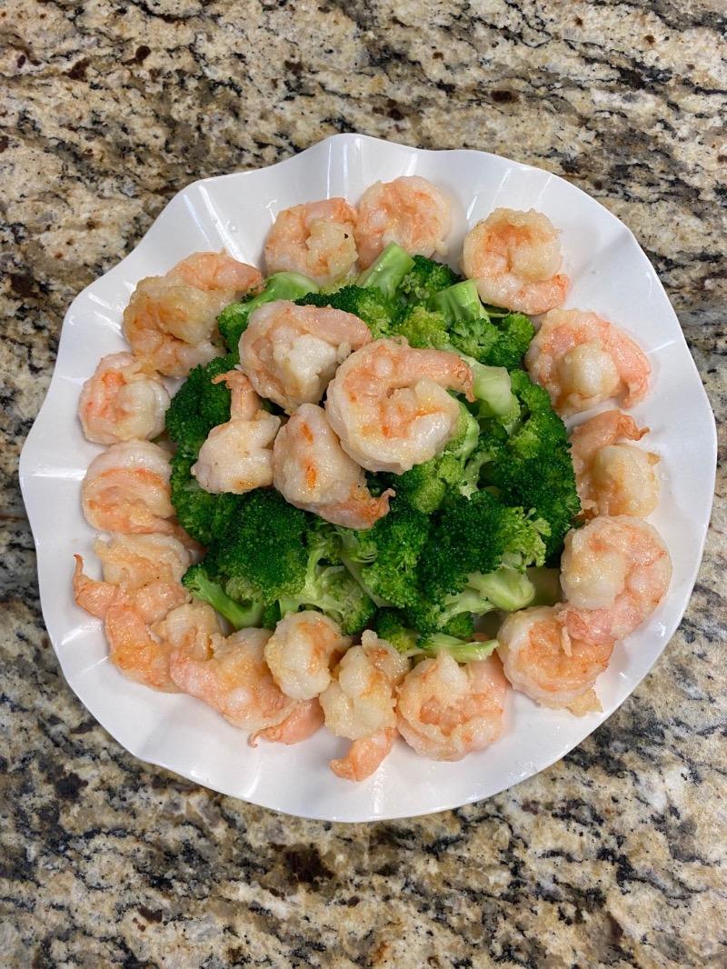 13. Broccoli Shrimp (20 pcs)