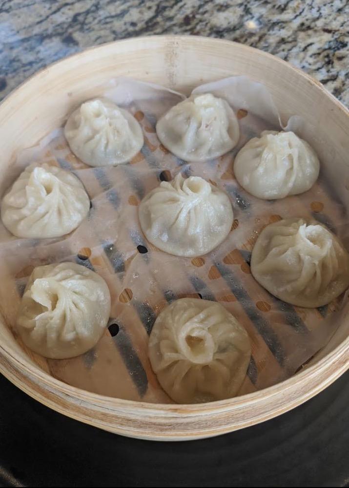 1. Fresh Meat Xiao Long Buns (8 pcs) (Steam)