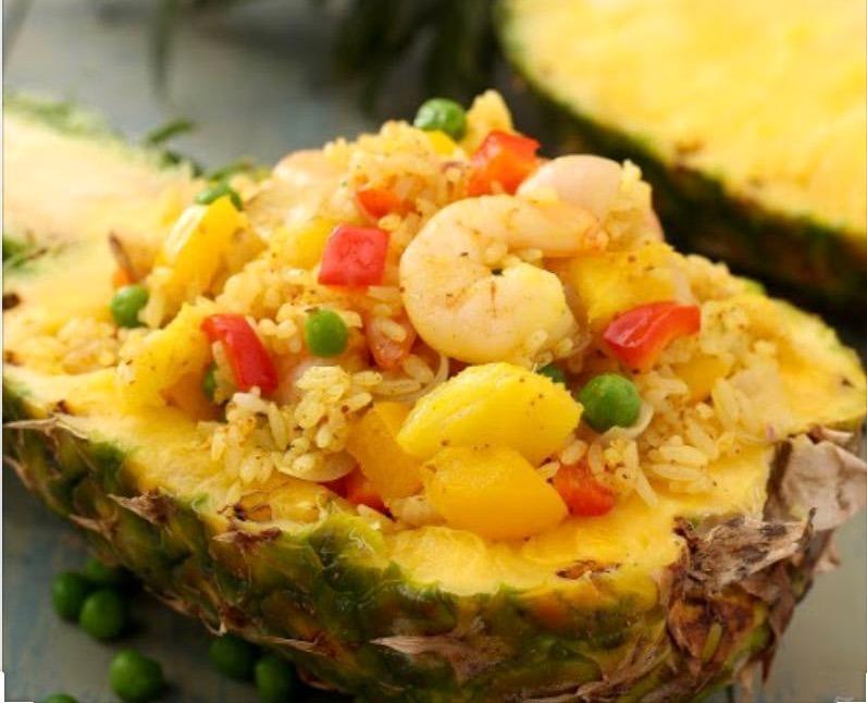 10. Pineapple Shrimp Fried Rice