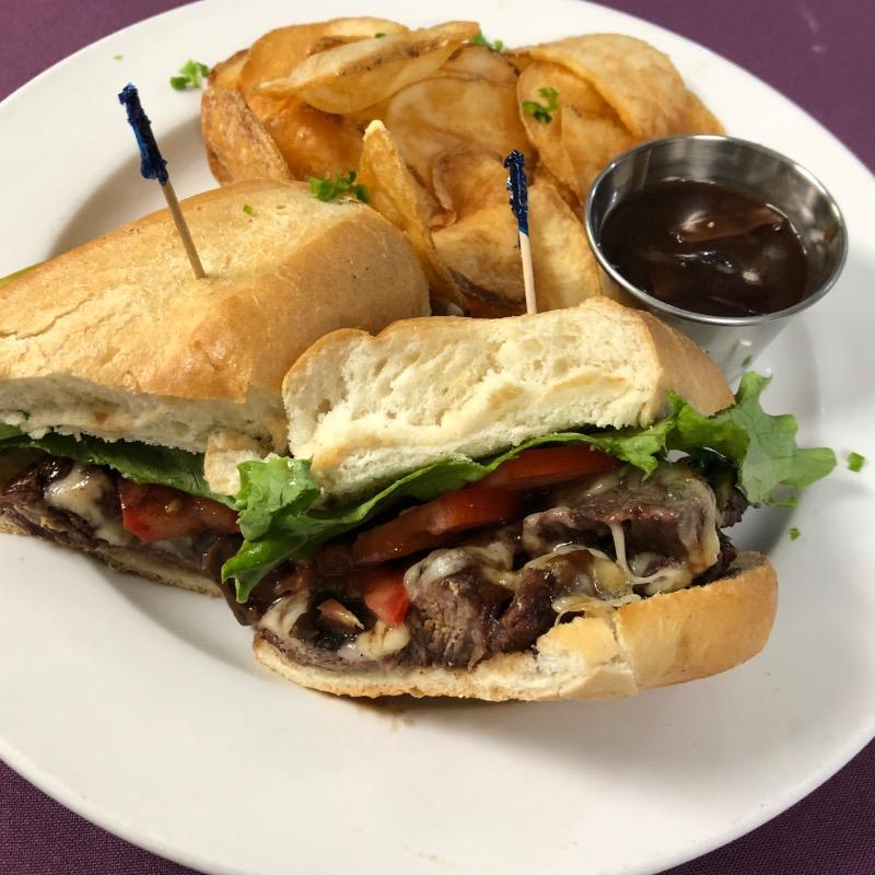 Grilled Sirloin Sandwich Image