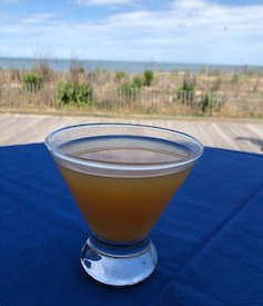 Apricot Bourbontini