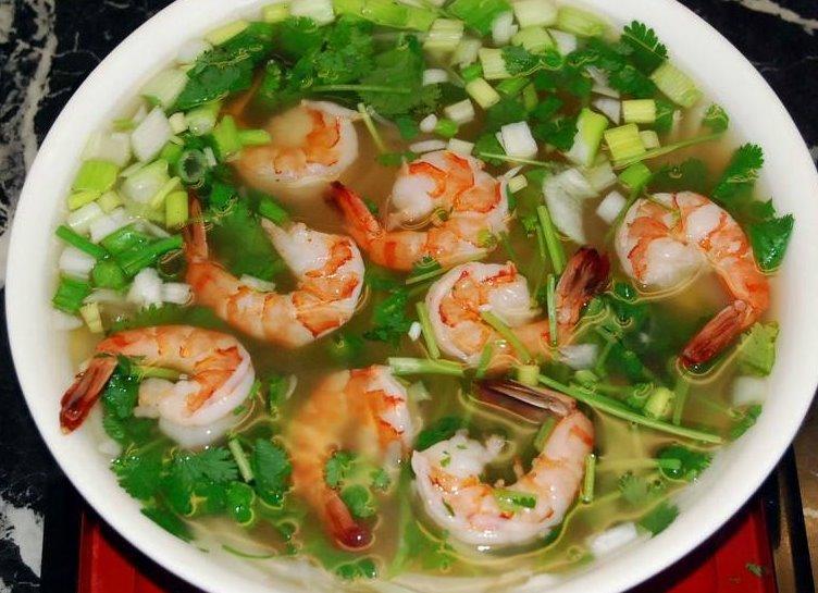 Shrimp pho Image