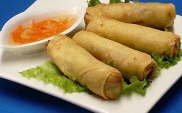 Vietnamese egg roll Image