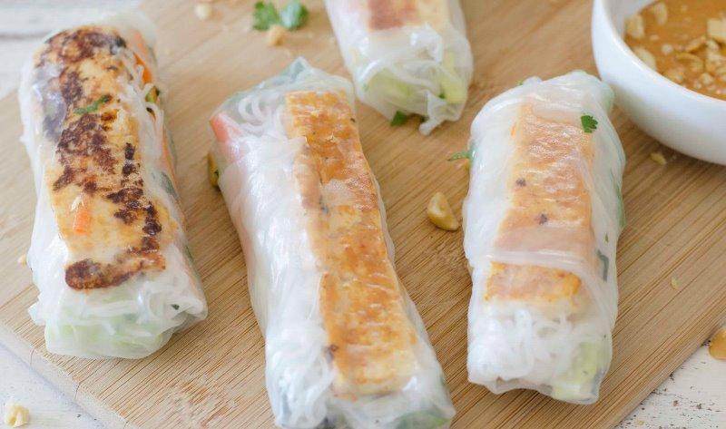 Tofu spring roll Image