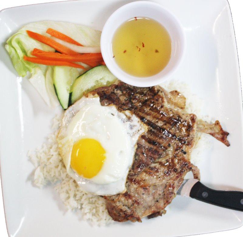 Grill Pork & Egg w/rice Image