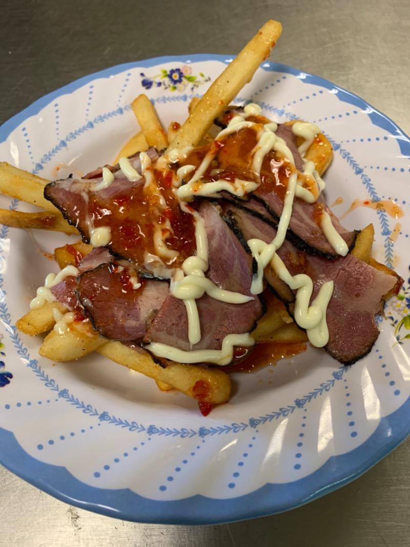 Smoke brisket fries Image