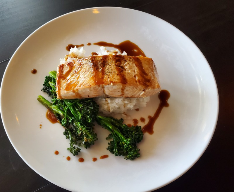 Grilled Salmon* Image