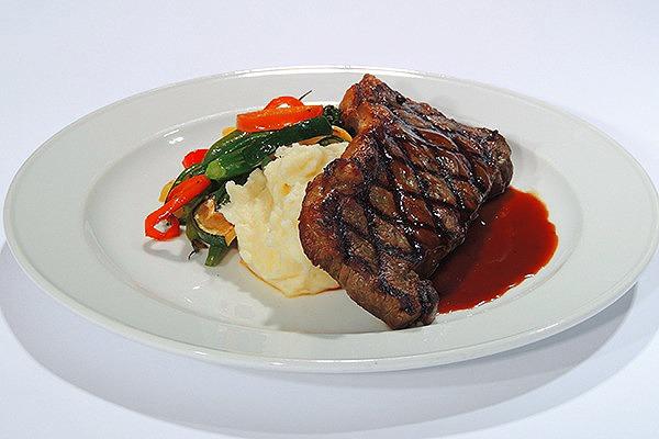 Rosemary Pan Seared Flat Iron Steak*
