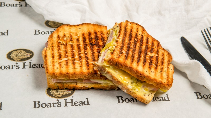The Ham & Swiss Panini Image