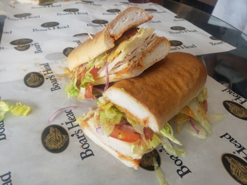 The Sandwich of the Month - The Jive Turkey Sub Image