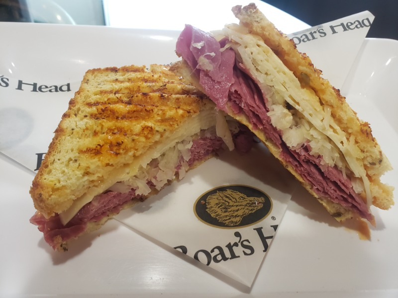 The Sandwich of the Month - The Reuben Sandwich Image