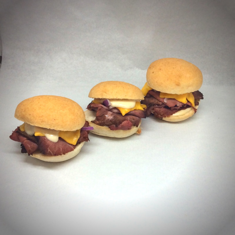 The Sandwich of the Month - Roast Beef Sliders Image