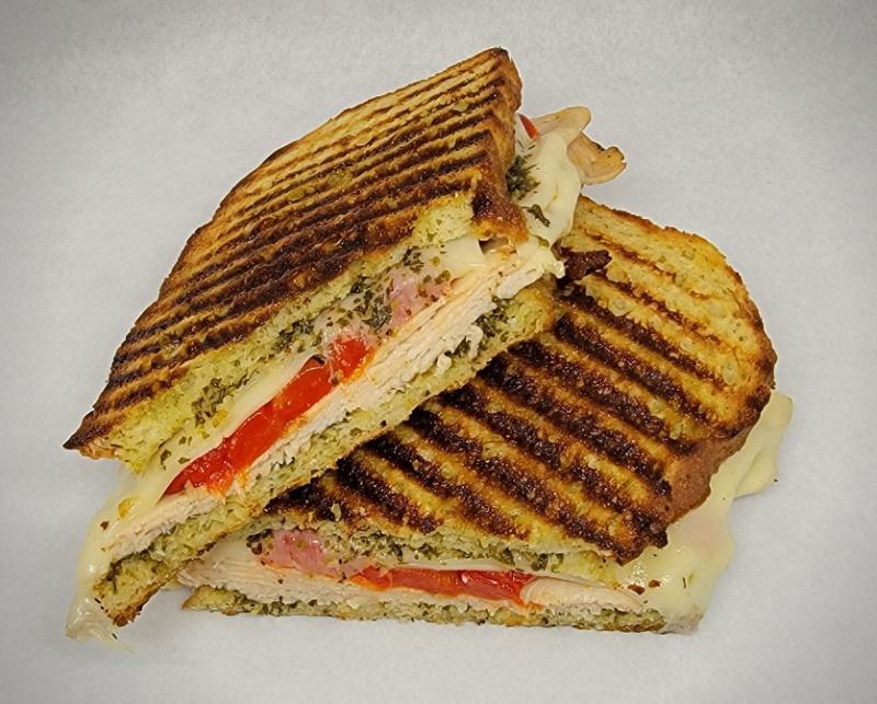 The Sandwich of the Month - Pesto Chicken Sandwich Image