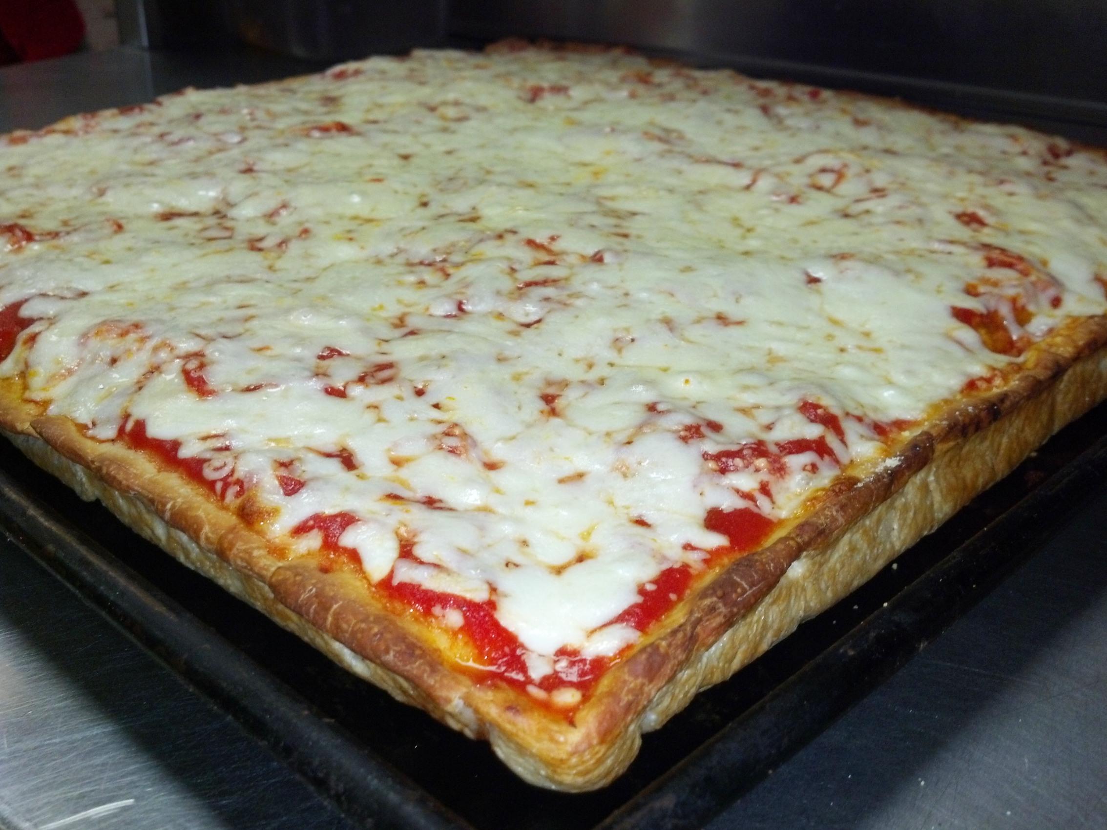 "Cheese 16"" Sicilian Image"