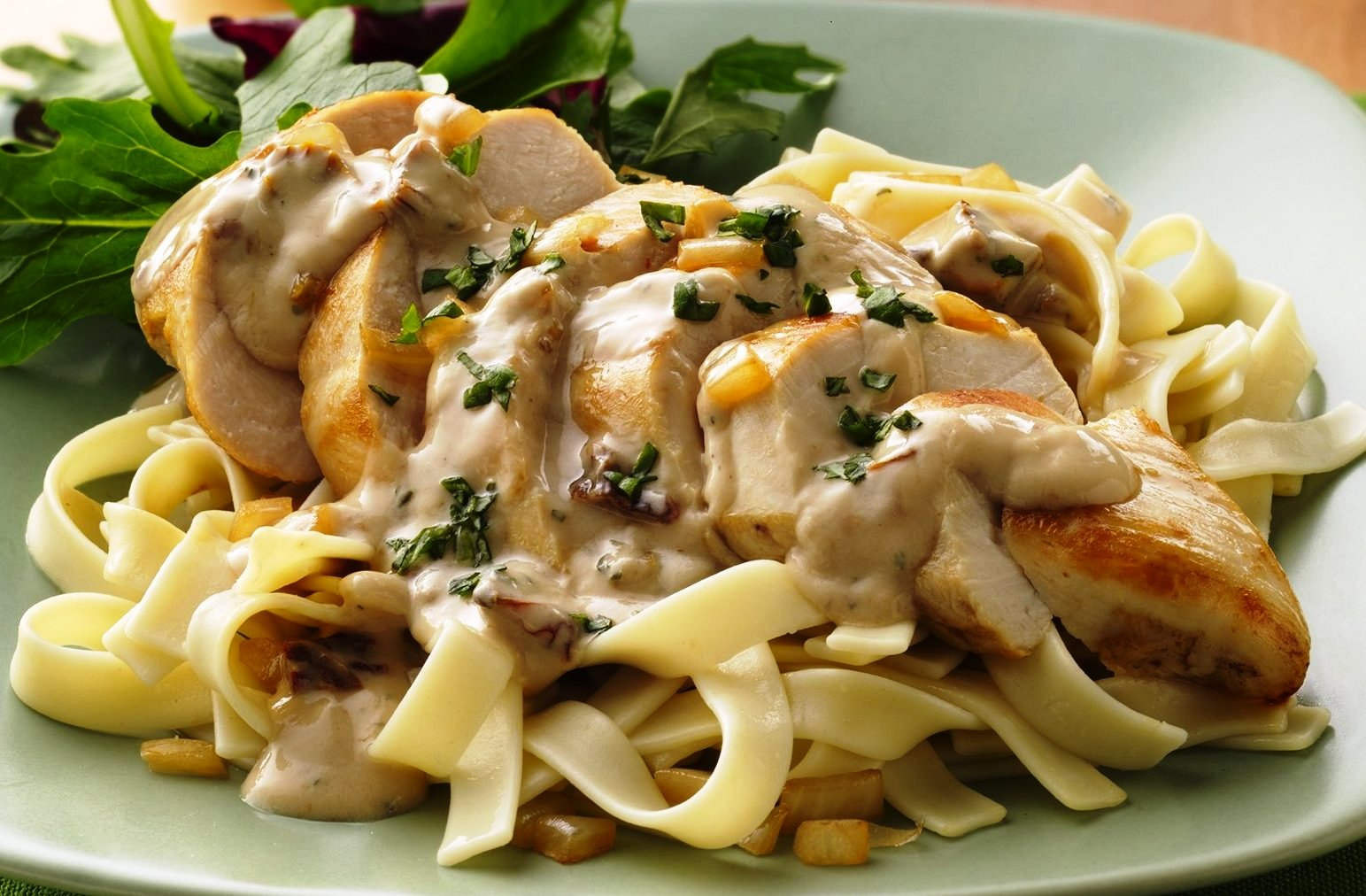 Chicken & Shrimp Alfredo Image