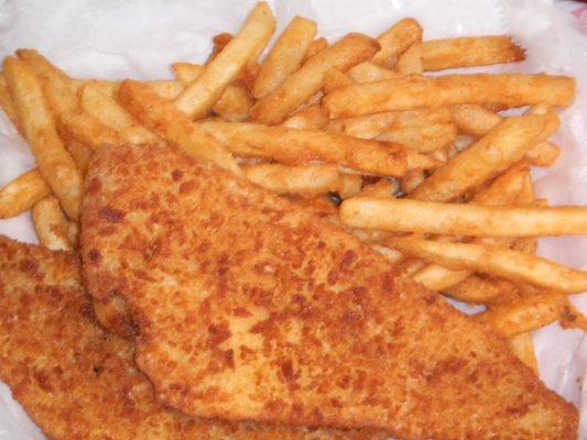 Fried Flounder Image