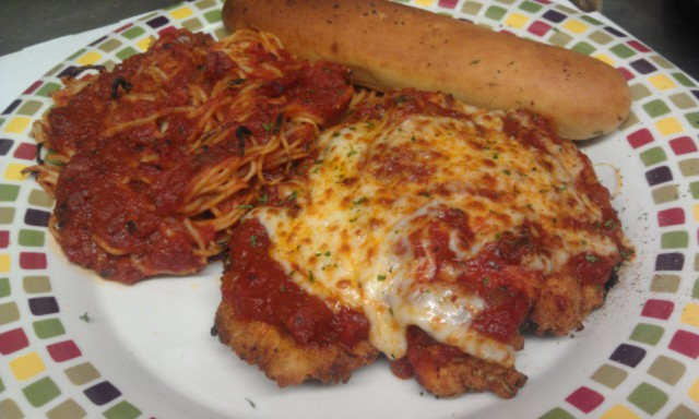 CHICKEN PARMESAN Image