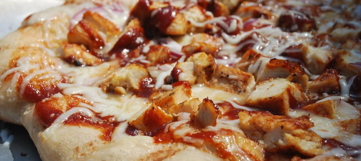 CHICKEN BBQ PIZZA Image