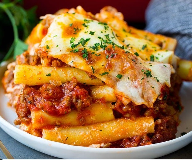 Baked Ziti with Beef Image