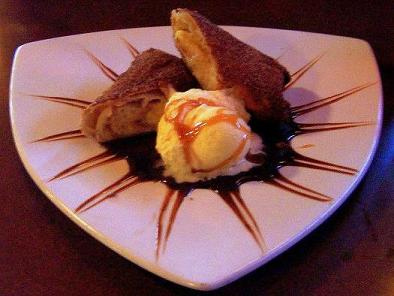 FRIED CHEESECAKE Image