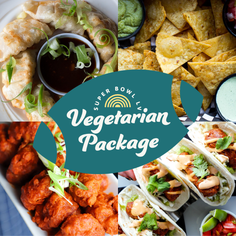 Super Bowl LV Vegetarian Package