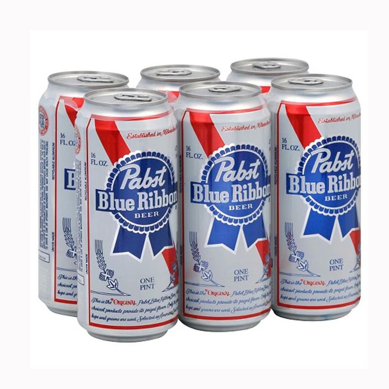 PABST BLUE RIBBON TALLBOY 6 PACK Image